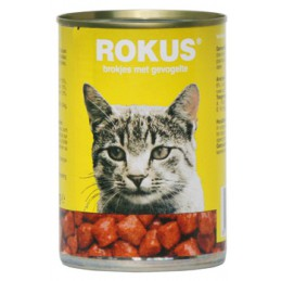 Rokus Kat Chicken 400 gr.