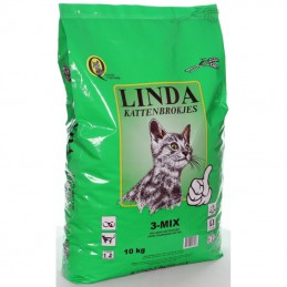 Linda Kattenbrok 3-Mix 10 kg.